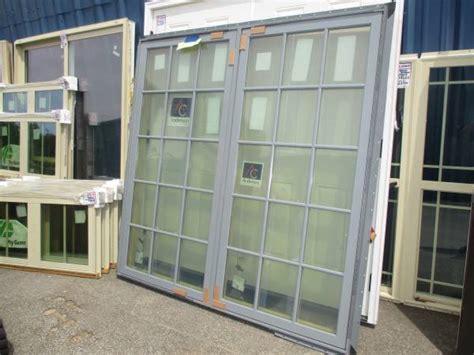 andersen gray twin clad casement window  grids   lumber greenville