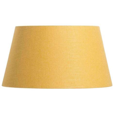 abat jour lika jaune ocre 40x30x22 cm