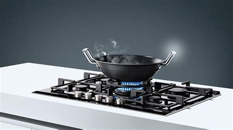 Stay flexible with Siemens cooktops and hobs