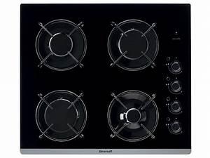 Plaque De Cuisson Gaz Conforama : table de cuisson gaz brandt bpg6413b brandt vente de ~ Melissatoandfro.com Idées de Décoration