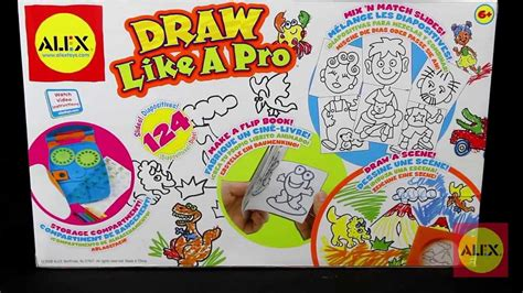alex toys draw   pro  youtube
