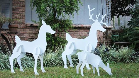 reindeer outdoor yard displays christmas wikii