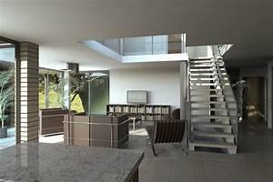 Maison Americaine Interieur : maison navarra archionline ~ Zukunftsfamilie.com Idées de Décoration