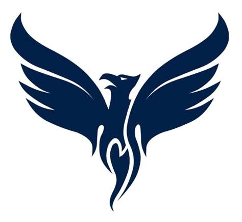 blue phoenix png pic  designing purpose