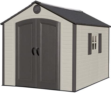 Lifetime 10x8 Shed by Plastic Sheds Resin Storage Shed Kits