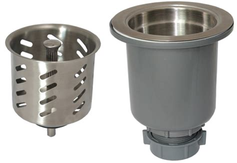 commercial sink strainer types gourmet kitchen sink strainer the keeney manufacturing