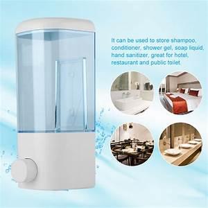 Fyydes Shampoo Dispenser  400ml Bathroom Hotel Wall