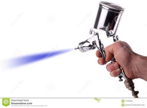 Spray Gun Stock Photo. Image Of Repair, Workshop, Self