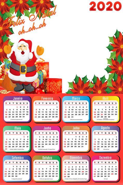 calendario papai noel brinquedo imagem legal