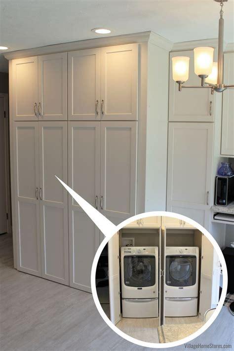 kitchen  hidden laundry   hidden laundry