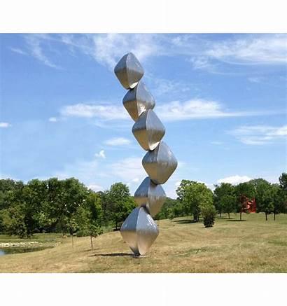 Sculpture Vertical Sculptures Rubenstein Wind Kinetic Water