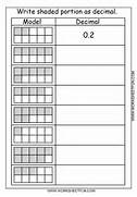 Decimal Model Tenths 2 Worksheets FREE Printable Tenths Fractions And Decimals By Njonesford UK Teaching Resources Tenths Number Line Worksheet On Blank Tenths Worksheets Two Digit Hundredths By Two Digit Tenths A Decimals Worksheet