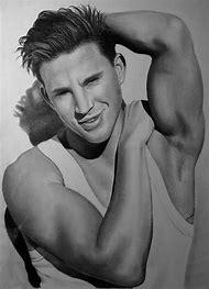 Channing Tatum Drawing