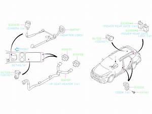 2020 Subaru Outback Console Wiring Harness  Rear   Cord