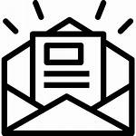 Icon Newsletter Icons Document Business