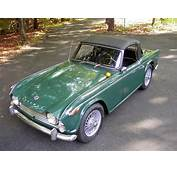 1965 Triumph TR4A British Racing Green Wire Wheel Roadster