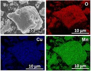 Sem U2013eds Elemental Mapping Of O  Cu And Mn For Fresh