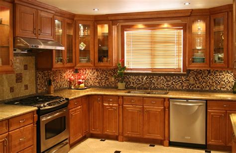 Amazing Kitchen Tile Backsplash Ideas Oak Cabinets On With