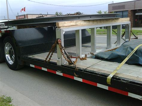 used step deck loading rs rs load levelers