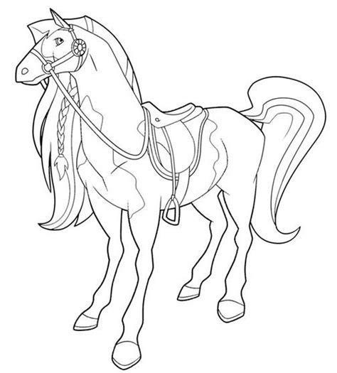 coloriage horseland  imprimer gratuit dessin gratuit  imprimer