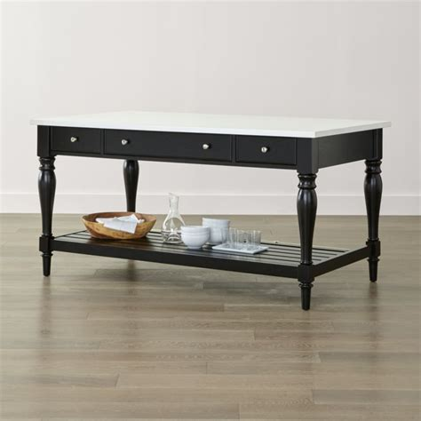 Black Kitchen Sideboard by Avalon Black Sideboard Crate And Barrel