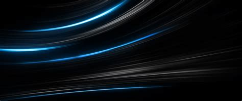 HD Background Black Blue Abstract Lines Light Stripes