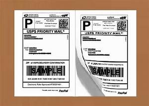 Review of generic half sheet self adhesive shipping labels for Half page shipping label template
