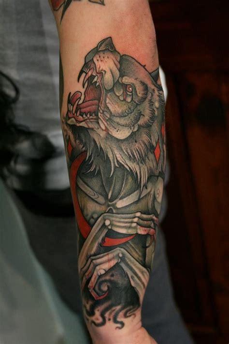 tattoo  mitch allendenwolf tattoo neo tradicional