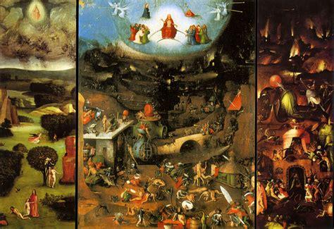 hieronymus bosch die versuchung des heiligen antonius bildbeschreibung