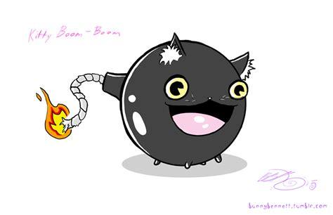 Kitty Boom-boom By Bunnybennett On Deviantart