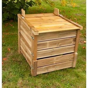 Composteur Pas Cher : composteur bois 650 litres pas cher prix auchan ~ Preciouscoupons.com Idées de Décoration