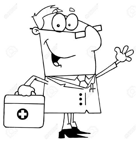 doctor black and white black and white doctor clipart clipground