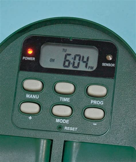 digital multi function outdoor timer for lights