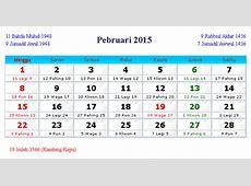 Kalender Februari 2015 Indonesia dan Hari Peringatan