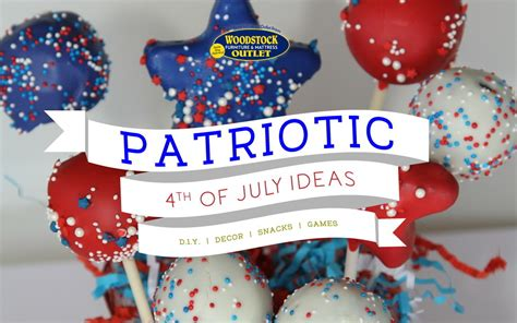 Home Decor 4th Of July Sale : Patriotic 4th Of July Party Ideas & Home Decor