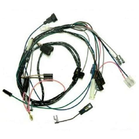 Pontiac Gto Wiring Harnes by Rally Adapter Wiring Harness 4 Non 64 67