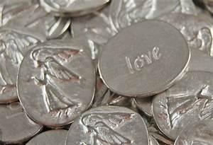 Pocket Angel Pewter Token Coin - love Bulk Lot of 10 | eBay
