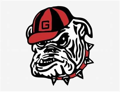 Georgia Bulldog Bulldogs Svg Clipart Transparent Football