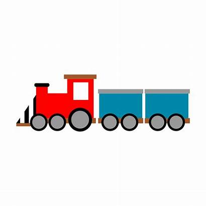Train Clipart Toy Clip Freight Drawing Transparent