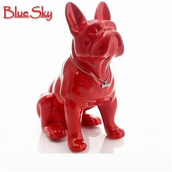 ceramic French Bulldog dog home decor crafts room