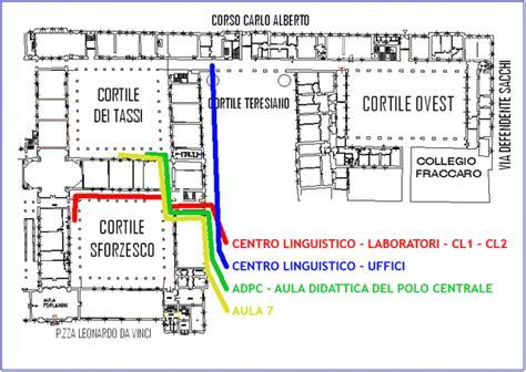 centro linguistico pavia cartina universit 224 di pavia