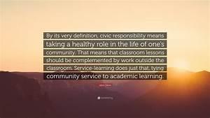 John Glenn Quot... Civic Responsibility Quotes