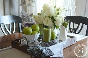 Everyday Kitchen Table Centerpiece Ideas Pinterest by Early Fall Farmhouse Kitchen Stonegable