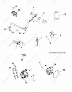 Polaris Atv 2016 Oem Parts Diagram For Electrical  Switches  Sensors  U0026 Ecm