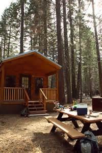 Manzanita Lake Lassen National Park Cabins