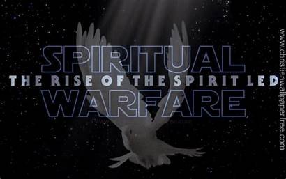 Spiritual Warfare Spirit Christian Led Backgrounds Rise