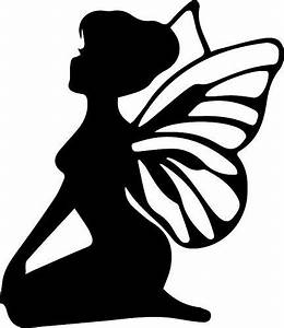 fairy with wings the craft chop dys ideas pinterest With fairy cut out template