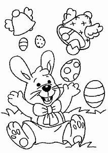 Coloriage De Paque : coloriage lapin paques 15 sur ~ Melissatoandfro.com Idées de Décoration
