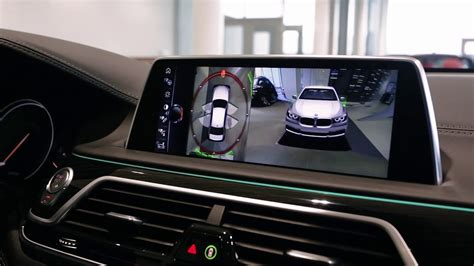 bmw surround view 2017 bmw 750i surround view demonstration