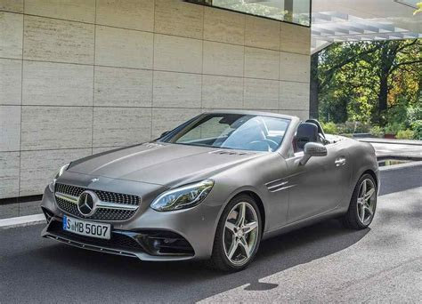 The New 20182019 Mercedesbenz Slc  Replaced The Name